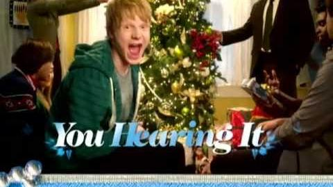 Happy Universal Holidays - Music Video - Adam Hicks Featuring Ryan Newman - Disney XD Official