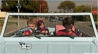 Zeke and Luther in Luther Waffles in the Skateboard of Doom