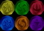 Sage Medallions