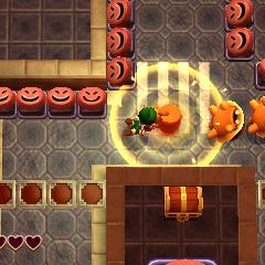 Link usa il suo <a href=