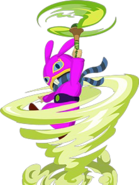 A Link Between Worlds Ravio Tornado Rod (Artwork)
