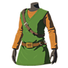 Breath of the Wild amiibo Rune Items (Classic Hero's Clothes Armor Set) Tunic of the Hero (Icon)