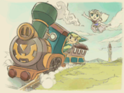 Spirit Tracks Credits Artwork 11