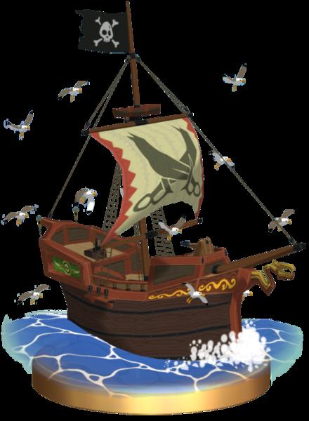 Barco pirata de Tetra The Legend of Zelda Wiki FANDOM powered by Wikia