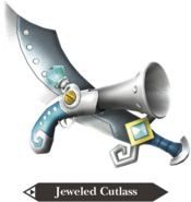 Hyrule Warriors Legends Cutlass Jeweled Cutlass (Render)