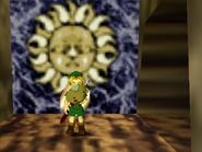 MM Piedra en la entrada al castillo ikana