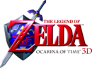 Ocarina of Time 3D logo