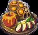 Pommes au miel enduro