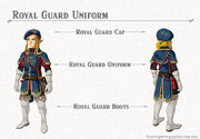Royal Guard Uniform set (Breath of the Wild)