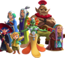 Seven Sages (A Link Between Worlds)