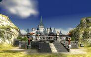 Castillo de Hyrule desde la pradera TP 3