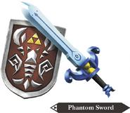 Hyrule Warriors Legends Light Sword Phantom Sword & Shield of Antiquity(Render)
