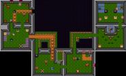 Mapa del tercer piso de la Torre del Águila