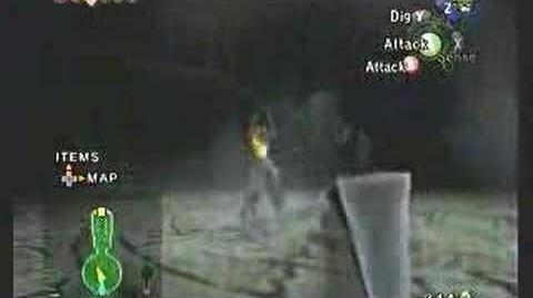 Twilight Princess Death Sword Glitch - Link is Invincible