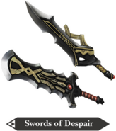 Hyrule Warriors Great Swords Swords of Despair (Render)