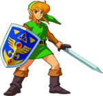 Link Artwork 1 (A Link to the Past)