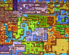 Mapa Holodrum OoS