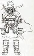 Twilight Princess Artwork Hero's Shade - Samurai (Concept Art)