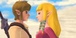 Zelda y Link SS