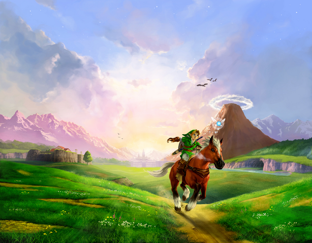 Файл:Characters (Ocarina of Time 3D).png
