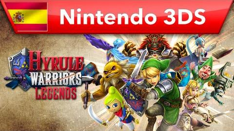 Hyrule Warriors Legends - Tráiler de la campaña Wind Waker (Nintendo 3DS)