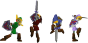 Link's Costumes (Super Smash Bros.)