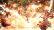 Zelda con la batuta de los vientos HW 3