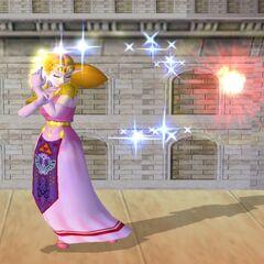 Zelda usa una versione del Fuoco di Din