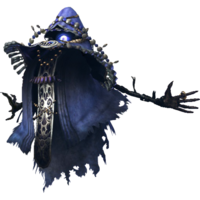 Hyrule Warriors Wizzro Standard Outfit (Blue Wizzrobe Recolor - Master Quest DLC)