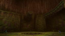 Interior del Árbol Deku OoT