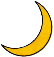 Artwork temple moon