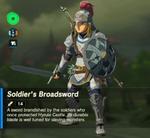 Link Conjunto de soldado BotW