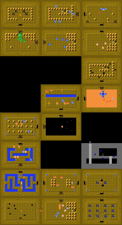 Image - Second Quest Level 5 png   Zeldapedia   FANDOM