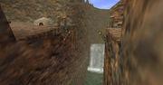 Valle Gerudo con el puente roto