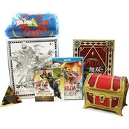 Contenido caja del tesoro Hyrule Warriors