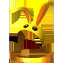 Masque du Lapin Trophée SSB4 3DS
