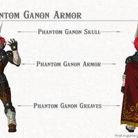 Phantom Ganon Armor Zeldapedia Fandom