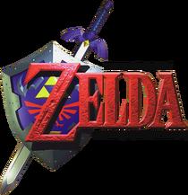 The Legend of Zelda - Ocarina of Time (logo)