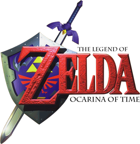image - the legend of zelda - ocarina of time (logo)