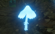 Breath of the Wild Hyrule Field Silent Shroom (Mabe Prairie Cave)