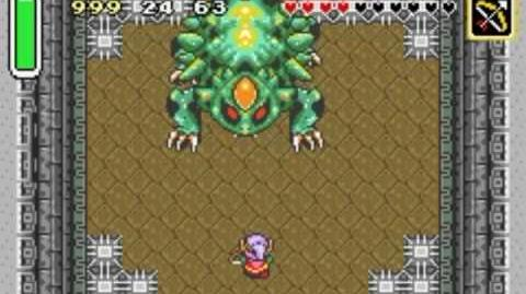 Palace of the Four Sword Helmasaur King (A Link to the Past)