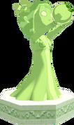 The Wind Waker Golden Goddess Statues Farore's Statue (Render)