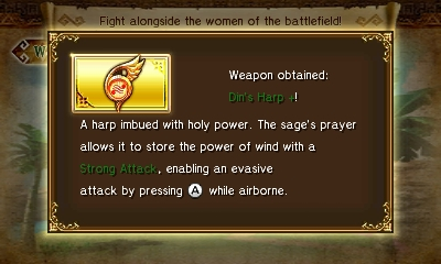 File:Hyrule Warriors Legends Rito Harp Din's Harp + (Level 4 Rito Harp).png