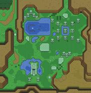 Ruines Marais Carte ALttP