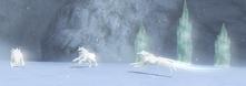 Wolfos blancos (Link's Crossbow Training)