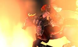 Ganondorf a caballo OoT3D