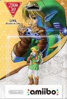 Embalaje americano del amiibo de Link (Ocarina of Time) - Subserie 30 aniversario