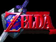 The Legend of Zelda - Ocarina of Time 3D (logo)