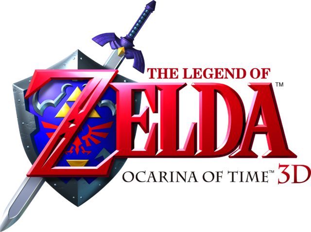 image - the legend of zelda - ocarina of time 3d (logo)