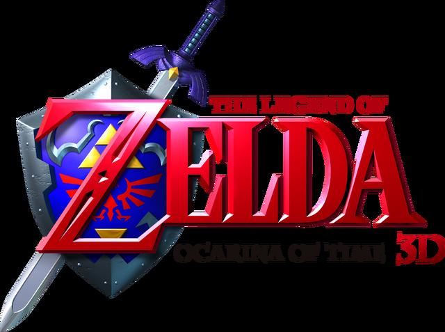 Файл:The Legend of Zelda - Ocarina of Time 3D (logo).png